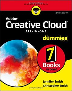Adobe Creative Cloud All-in-One For Dummies-cover