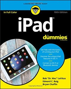 iPad For Dummies (For Dummies (Computer/Tech))-cover