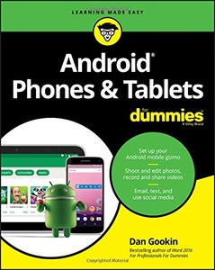 Android Phones & Tablets For Dummies (For Dummies (Computer/Tech))-cover
