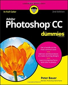 Adobe Photoshop CC For Dummies (For Dummies (Computer/Tech))-cover