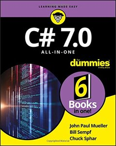 C# 7.0 All-in-One For Dummies (For Dummies (Computer/tech))-cover