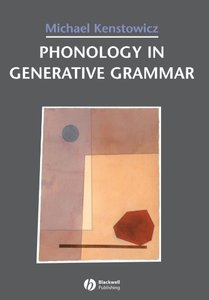 Phonology in Generative Grammar (Blackwell Textbooks in Linguistics, No. 7)-cover