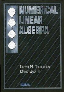 Numerical Linear Algebra-cover