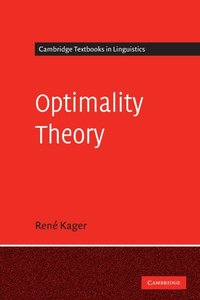 Optimality Theory (Cambridge Textbooks in Linguistics)-cover