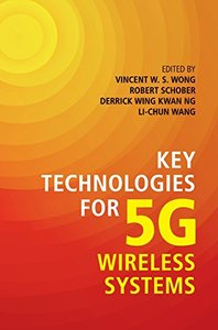 Key Technologies for 5G Wireless Systems (Hardcover)-cover