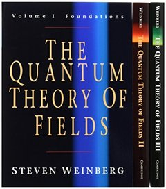 The Quantum Theory of Fields 3 Volume Paperback Set (V. 1-3)-cover