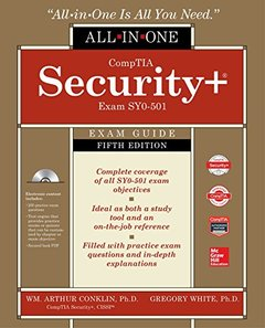 CompTIA Security+ All-in-One Exam Guide (Exam SY0-501), 5/e (Hardcover)-cover