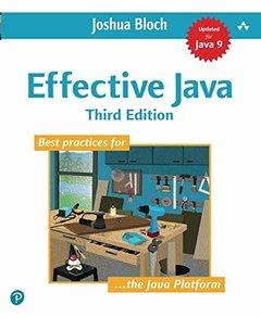 Effective Java, 3/e (美國原版)-cover