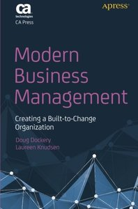 Modern Business Management: Creating a Built-to-Change Organization-cover