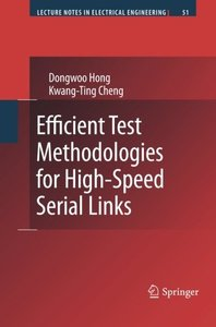 Efficient Test Methodologies for High-Speed Serial Links (Lecture Notes in Electrical Engineering)-cover