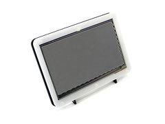 WaveShare 1024x600 7吋 HDMI TFT 電容式多點觸控螢幕 (黑白外殼)-cover