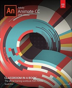 Adobe Animate CC Classroom in a Book (2018 release)-cover