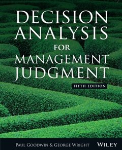 Decision Analysis for Management Judgment (Paperback)-cover