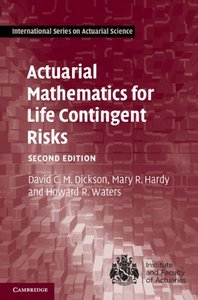 Actuarial Mathematics for Life Contingent Risks (Hardcover)