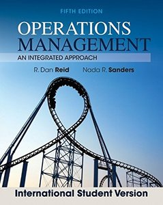 Operations Management: An Integrated Approach, 5/e (Revised) (Paperback)-cover