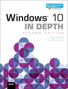 Windows 10 In Depth (includes Content Update Program) (2nd Edition)-cover