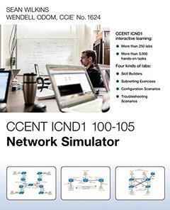 CCENT ICND1 100-105 Network Simulator-cover