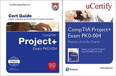 CompTIA Project+ Exam PK0-004 Pearson uCertify Course and Textbook Bundle (Certification Guide)-cover