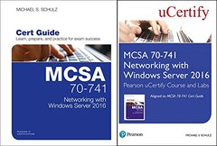 MCSA 70-741 Networking with Windows Server 2016 Pearson uCertify Course and Labs and Textbook Bundle (Certification Guide)-cover