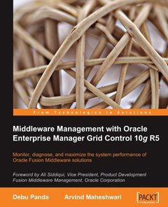 Middleware Management with Oracle Enterprise Manager Grid Control 10g R5-cover