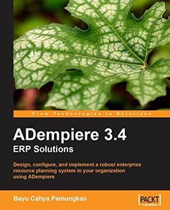 ADempiere 3.4 ERP Solutions-cover