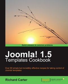 Joomla! 1.5 Templates Cookbook-cover