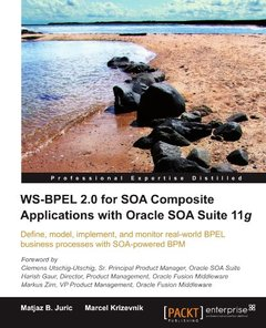 WS-BPEL 2.0 for SOA Composite Applications with Oracle SOA Suite 11g-cover