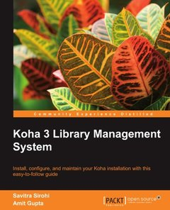 Koha 3 Library Management System-cover