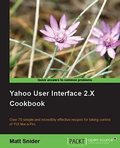Yahoo! User Interface Library 2.x Cookbook-cover