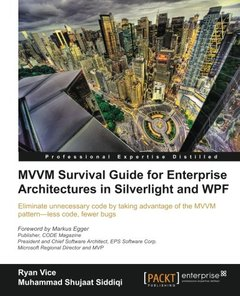 MVVM Survival Guide for Enterprise Architectures in Silverlight and WPF-cover