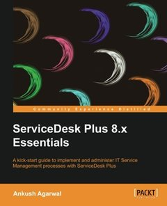 ServiceDesk Plus 8.x Essentials-cover
