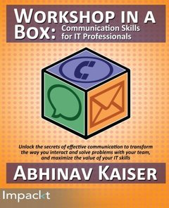 Workshop in a Box: Communication Skills for IT Professionals-cover