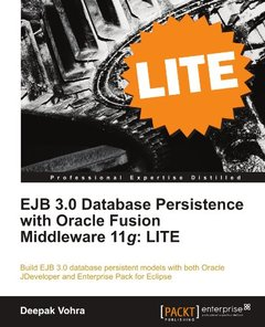 EJB 3.0 Database Persistence with Oracle Fusion Middleware 11g: LITE-cover