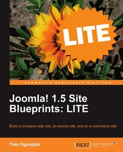 Joomla! 1.5 Site Blueprints: LITE-cover