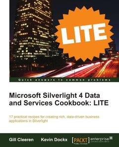 Microsoft Silverlight 4 Data and Services Cookbook: LITE-cover