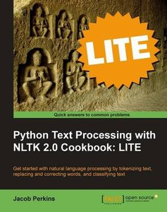 Python Text Processing with NLTK 2.0 Cookbook: LITE Edition-cover