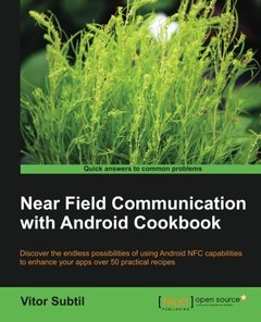 Near Field Communication with Android Cookbook-cover