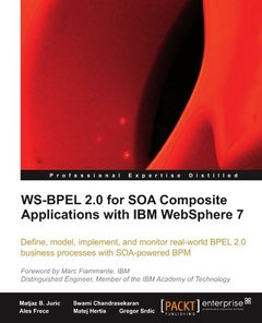 WS-BPEL 2.0 for SOA Composite Applications with IBM WebSphere 7-cover