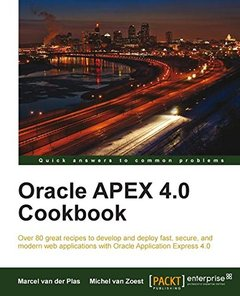 Oracle Apex 4.0 Cookbook-cover