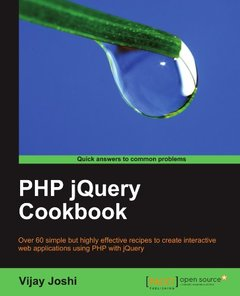 PHP jQuery Cookbook-cover
