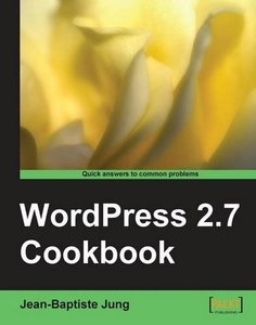 WordPress 2.7 Cookbook-cover