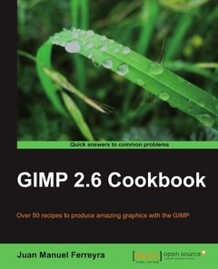 GIMP 2.6 cookbook-cover