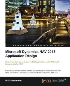 Microsoft Dynamics NAV 2013 Application Design-cover