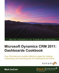 Microsoft Dynamics CRM 2011: Dashboards Cookbook-cover