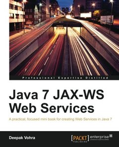 Java 7 JAX-WS Web Services-cover