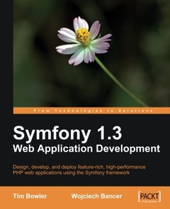Symfony 1.3 Web Application Development-cover