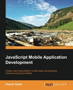 JavaScript Mobile Application Development-cover