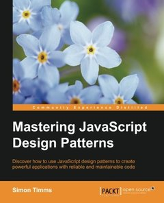 Mastering JavaScript Design Patterns-cover