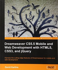 Dreamweaver CS5.5 Mobile and Web Development with HTML5, CSS3, and jQuery-cover