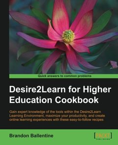 Desire2Learn for Higher Education Cookbook-cover
